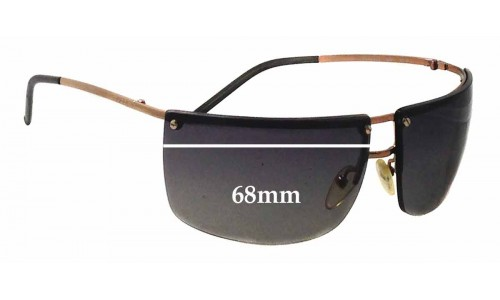 Sunglass Fix Replacement Lenses for Gucci GG2653/S - 68mm wide