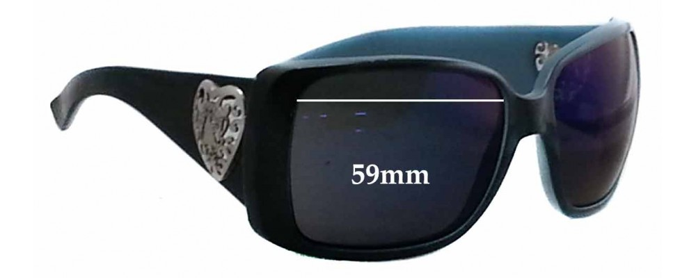 Gucci 3058/S Replacement Sunglass Lenses - 59mm wide