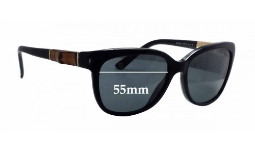 Gucci GG3672/S Replacement Sunglass Lenses - 55mm wide