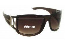 Gucci GTH5U Replacement Sunglass Lenses - 66mm wide