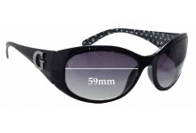 Guess GU6389 Replacement Sunglass Lenses - 59mm wide