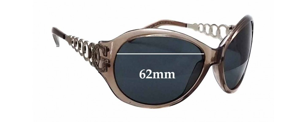 Guess Glasses Frame Parts : Guess GU6510 Replacement Sunglass Lenses - 62mm wide