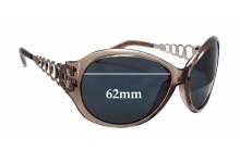 Guess GU6510 Replacement Sunglass Lenses - 62mm wide