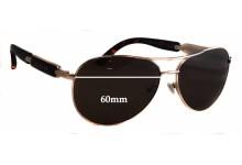 Guess GU7295 Replacement Sunglass Lenses - 60mm wide
