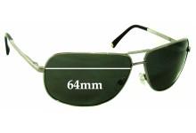 Giorgio Armani GA 362/S Replacement Sunglass Lenses - 64mm wide