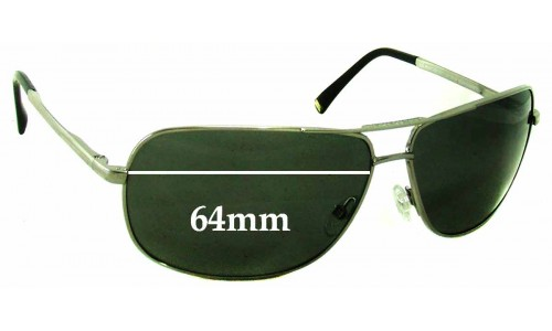Giorgio Armani GA 362/S Replacement Sunglass Lenses - 64mm wide