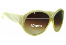 Gucci GG2927S Replacement Sunglass Lenses - 62mm Wide