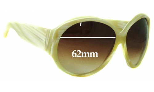 Sunglass Fix Replacement Lenses for Gucci GG2927S - 62mm Wide