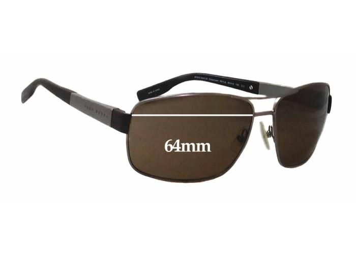 Fuse Lenses Non-Polarized Replacement Lenses for Hugo Boss Boss 0004-S