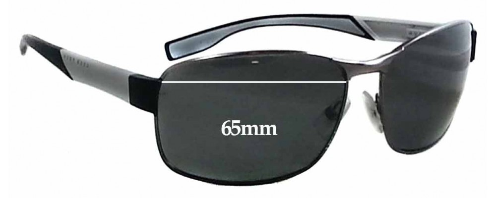 60f163deae61 Hugo Boss 0569/P/S Replacement Lenses 65mm by The Sunglass Fix®