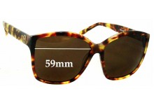 House Of Harlow Jordana New Sunglass Lenses - 59mm wide