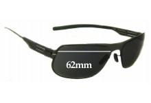 IC! Berlin Kalle R. Replacement Sunglass Lenses - 62mm wide