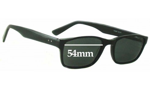 In Style S215 Replacement Sunglass Lenses - 54mm wide