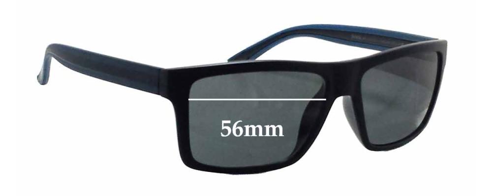 0f106d28e2 Invu B2502B Replacement Lenses 54mm by The Sunglass Fix®
