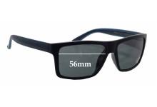 Invu B2502B Replacement Sunglass Lenses - 56mm wide