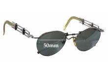 Jean Paul Gaultier 56-0174 Replacement Sunglass Lenses - 50mm wide