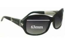Jimmy Choo Kelli Strass/S Replacement Sunglass Lenses - 63mm wide