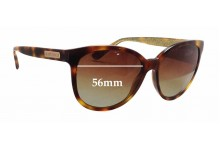 Jimmy Choo Lucia/S Replacement Sunglass Lenses - 56mm wide
