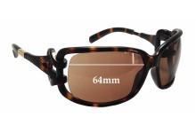 Jimmy Choo Mini JJ Replacement Sunglass Lenses - 64mm wide
