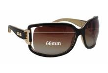 Jimmy Choo Roka/S Replacement Sunglass Lenses - 66mm wide