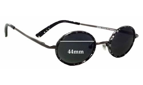 Joseph Marc JM4058 Replacement Sunglass Lenses - 44mm Wide