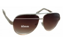 Juicy Couture Regal/S Replacement Sunglass Lenses - 60mm wide