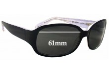 Juicy Couture The Earl/S Replacement Sunglass Lenses - 61mm wide