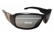 Julbo Zulu Replacement Sunglass Lenses - 64mm wide