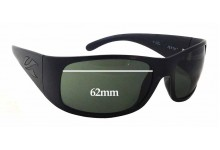 Kaenon Jetty Replacement Sunglass Lenses - 62mm wide x 42mm tall