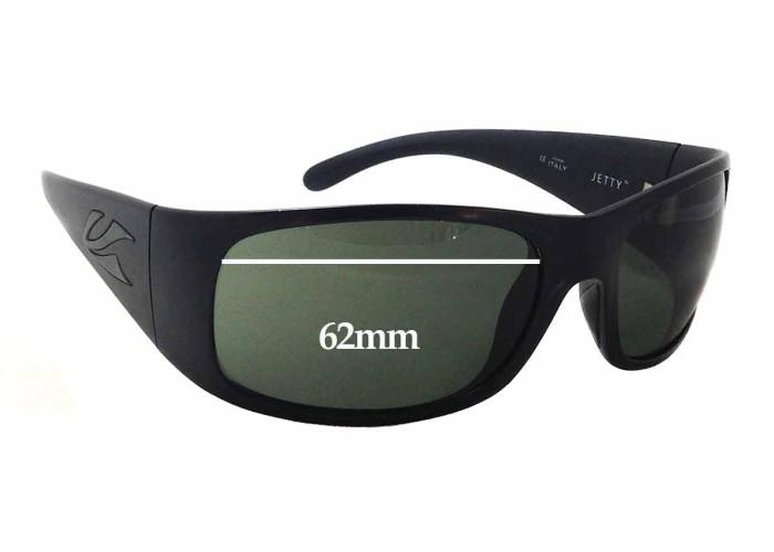 66mm Wide SFx Replacement Sunglass Lenses fits Kaenon Hard Kore