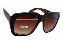 Kala Chateau Replacement Sunglass Lenses - 60mm Wide