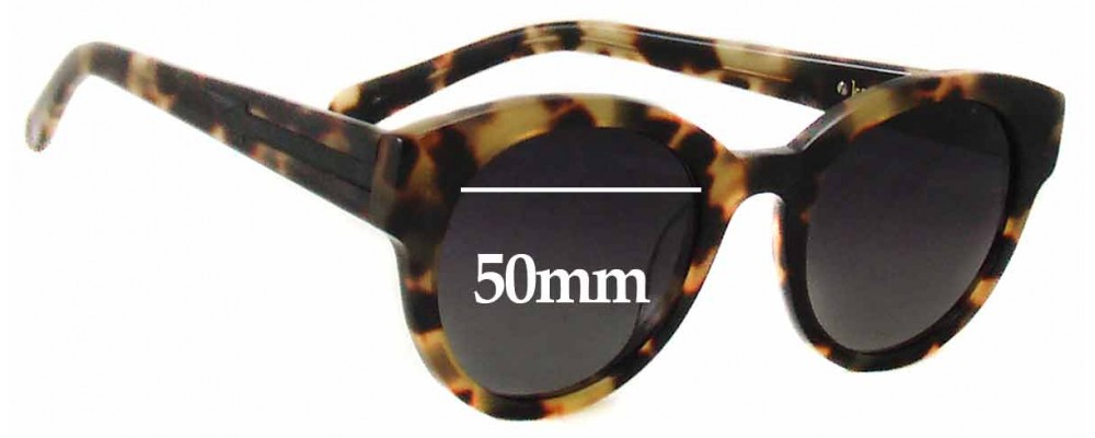 Karen Walker Anywhere New Sunglass Lenses - 50mm Wide
