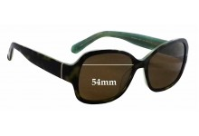Kate Spade Akira/P/S Replacement Sunglass Lenses - 54mm wide