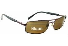 Killer Loop Blenck 3133 Replacement Sunglass Lenses - 58mm wide