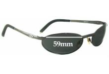 Killer Loop KL0501 Ricochet Replacement Sunglass Lenses - 59mm wide