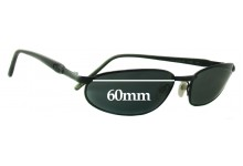 Killer Loop The Shaker 3103 Replacement Sunglass Lenses - 60mm Wide
