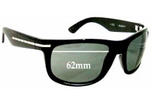 Sunglass Fix New Replacement Lenses for Kaenon Burny - 62mm Wide