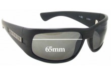 Sunglass Fix New Replacement Lenses for Kaenon Lewi - 65mm Wide