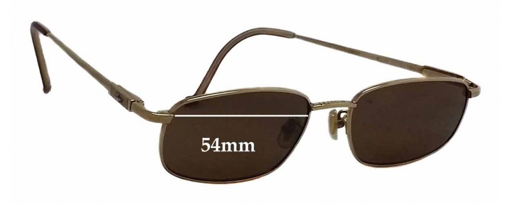 55cf98ac25a6 Lacoste 9334 Replacement Lenses - 54mm wide