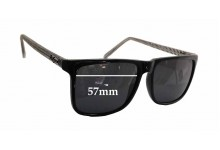 Le Specs Cosmic String Replacement Sunglass Lenses - 57mm wide x 43mm tall