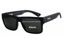 LIIVE Midget Replacement Sunglass Lenses - 60mm wide