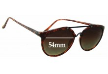 Liz Claiborne Replacement Sunglass Lenses - 54mm wide