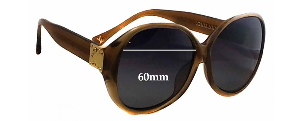 c5daab2a53 Louis Vuitton Z0283E Replacement Lenses - 60mm wide