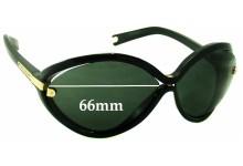 Louis Vuitton Daphne Z0417W Replacement Sunglass Lenses - 66mm wide