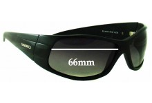 Mako Flame 9521 Replacement Sunglass Lenses - 66mm Wide