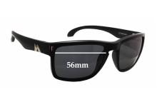 Mako GT 9583 Replacement Sunglass Lenses - 56mm wide x 41mm tall