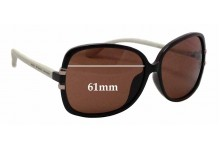 MARC BY MARC JACOBS MMJ 236/F/S Replacement Sunglass Lenses - 61mm wide