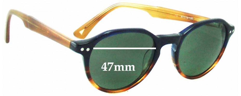 Marcs M501 Replacement Sunglass Lenses - 47mm Wide