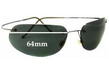 2d26f58227 Maui Jim MJ501 Ka anapali Titanium Replacement Sunglass Lenses - 64mm Wide