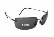 6e86d2d666cdf Maui Jim MJ351 Moana Flexon Replacement Sunglass Lenses - 64mm wide x 40mm  tall